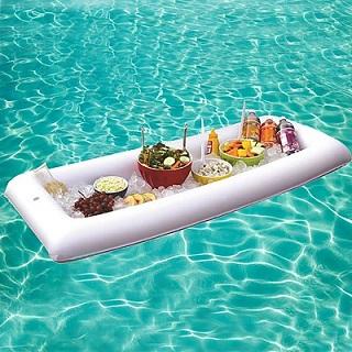 comprar bandeja hinchable para piscina