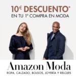 Consigue 10 euros de descuento en tu primera compra en Amazon Moda