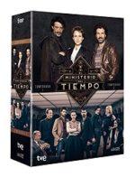El Ministerio del Tiempo en DVD. Temporadas 1 y 2 en oferta. 34,99 euros. Descuento del 30%