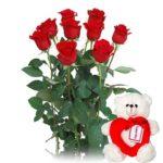 Ramos de flores para San Valentín mejor precio