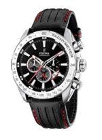 Reloj Festina de hombre con correa de piel barato. 113,48 euros. Descuento del 24%