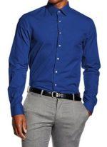 Camisa Calvin Klein Slim Fit para hombre barata en oferta. 32,61 euros. Antes 69,90 euros