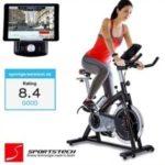 ¡Chollo! Bicicleta estática profesional con App para Smartphone + Street View, disco inercia de 22Kg por 489 euros. Descuento del 30%