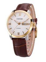 ¡Chollo! Reloj de hombre automático Comtex en oferta con correa de piel por 109 euros. Descuento del 49%