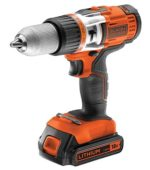 ¡Chollo! Taladro Black and Decker sin cable percutor por 145 euros. Antes 231,95 euros. Descuento del 37%