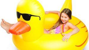 Flotador gigante pato con gafas regalos y chollos - Flotadores gigantes ...