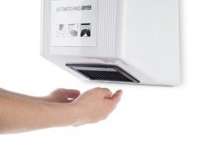secador de manos automatico