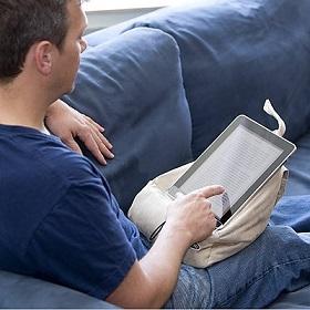 Atril coj n de lectura regalos y chollos - Cojin lectura cama ...