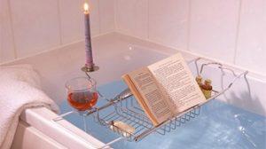 bandejas para bañera con atril baratas