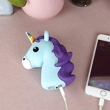 cargador porttail unicornio comprar online