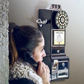telefono retro de pared comprar online