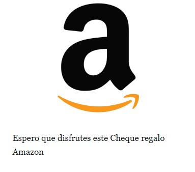 amazon cheque regalo