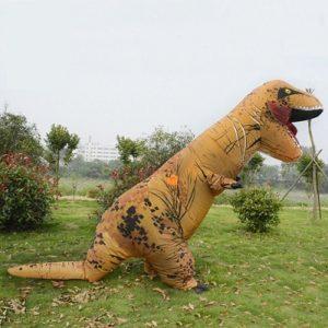 disfraz dinisaurio gigante hinchable