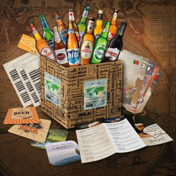 caja con cervezas del mundo comprar online
