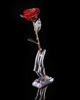 rosa de oro de 24 kilates comprar online