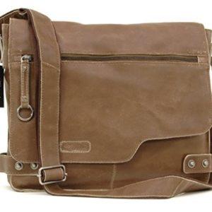 bolso bandolera de cuero para portatil comprar online
