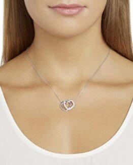collar de mujer swarovski con corazones comprar online