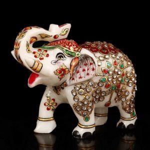 elefante de la suerte de marmol comprar online