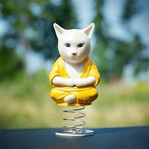 gato budista para el coche adorno comprar online