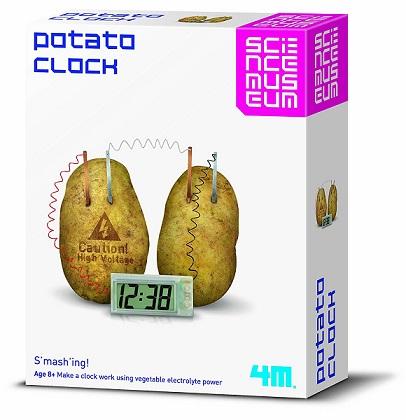 juego de experimento con patatas