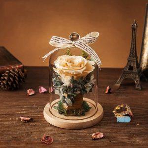 caja de regalo con flor comprar online