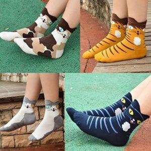 calcetines con dibujos de gatos comprar online