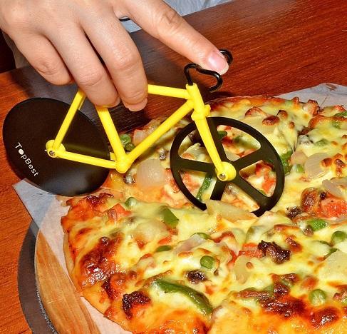 corta pizzas bicicleta