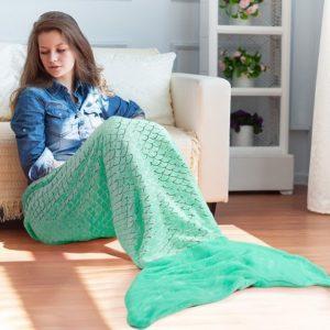 manta con forma de sirena comprar online