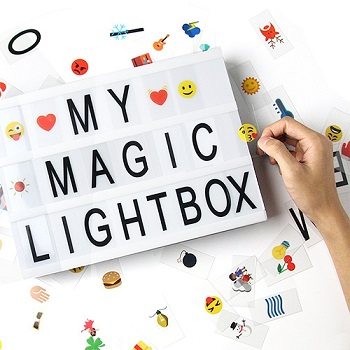caja de luz de cine regalos originales