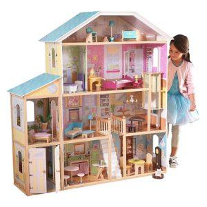 casa de muñecas de madera gigante comprar online