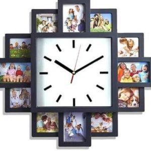 reloj de pared con fotos personalizadas comprar online