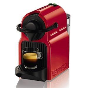 cafetera krups nespresso inissia roja barata