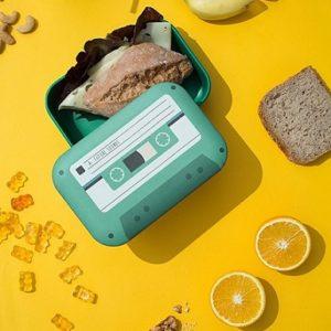 fiambrera forma de cassette comprar