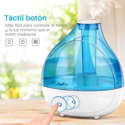 humidificador para bebe ultrsonico vicsting