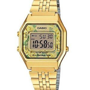 reloj casio mujer dorado barato