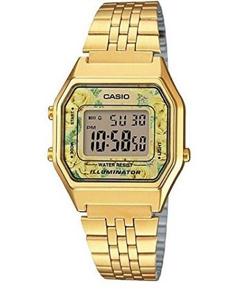 Reloj Casio de mujer dorado. Descuento del 11% 949587530e0c