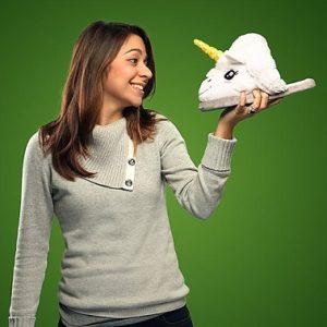 zapatillas forma de unicornio comprar online