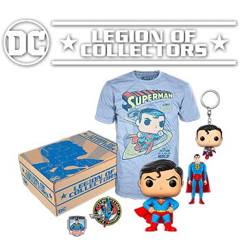 Caja Funko Dc Comics Legion Of Collectors Regalos Y Chollos