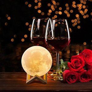 lampara de luna llena led comprar barata