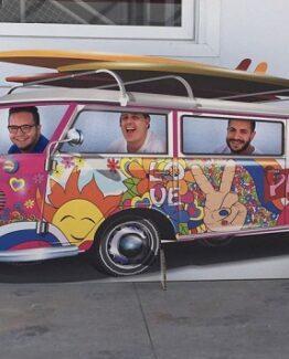 photocall furgoneta hippy mejor precio