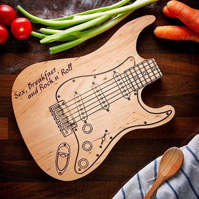 tabla de cortar guitarra electrica comprar barata