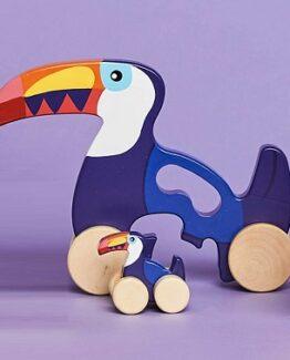 juguete de madera tucan comprar barato
