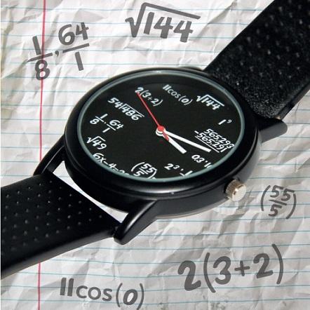 reloj de pulsera formulas matematicas comprar