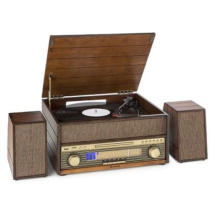 tocadiscos auna retro vintage comprar barato online