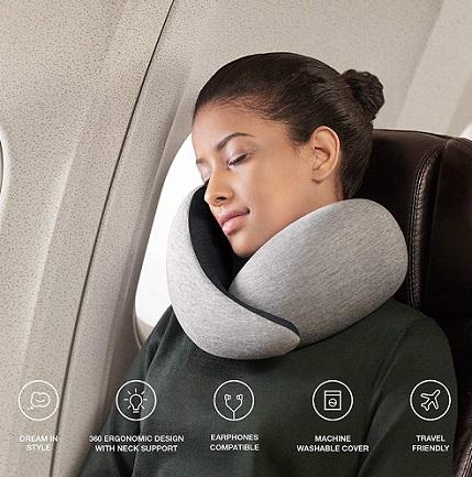comprar almohada de viaje viscoelastica precio barato online