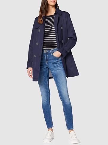 comprar abrigo geox mujer azul precio barato online